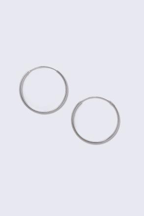 Sterling Silver Medium Sleeper Earrings