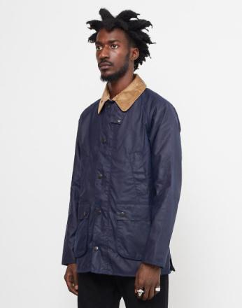 Barbour laget for Japan SL Bedale voks jakke blå