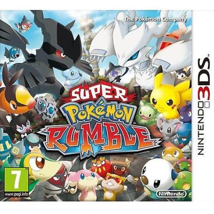 Nintendo Super Pokemon Rumble 3DS spil - Fruugo