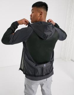 ellesse - Sport Polenta - Mørkegrå hættetrøje med lynlås