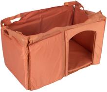 Isolering til Trixie Natura Classic hundehus med fladt tag - Str. L: B 104 x L 63 x H 60 cm