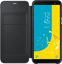Samsung Wallet Cover Ef-wj600 Samsung Galaxy J6 Musta