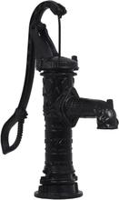 vidaXL håndbetjent vandpumpe til haven støbejern