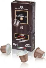 Carracci Nespresso kahvikapselit Napoli 10 kpl