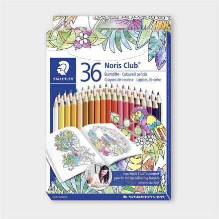 Noris Club Color Pen 36 set - Ballograf