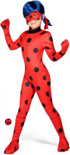 Ladybug Miraculous dräkt för barn till maskeraden