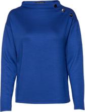 Sweat Long 1/1 Sleeve Sweat-shirt Genser Blå Betty Barclay