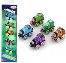 5-Pack Thomas & Vännerna Minis Lyser I Mörkret Leksak Tåg