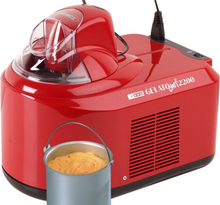 Nemox Gelato Chef 2200 Glassmaskin Röd