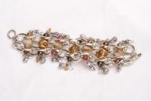 Zilverkleurig metalen armband