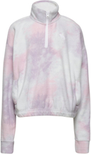Polar Fleece Sweat-shirt Genser Rosa Abercrombie & Fitch