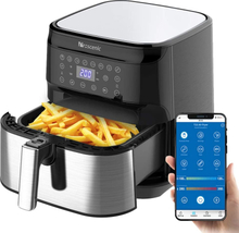 Proscenic T21 Air fryer 5.5L Capacity Oilless Cooker for Roasting Health Fryer Pizza Cooker Smart Touch LCD