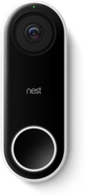 Google Hello Door Bell Nordic Musta