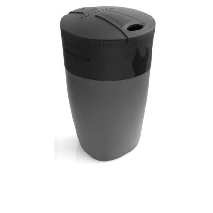 Light My Fire Pack-up-Cup Serveringsutrustning Svart OneSize