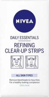 Nivea Refining Clear Up Strips Ansiktsmasker Transparent