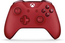 Kontroler bezprzewodowy dla konsoli Xbox — czerwony