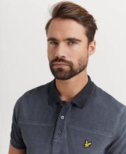Lyle & Scott Pikétröja Ombre Polo Shirt Svart