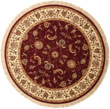 Sarina - Rost matta Ø 200 Orientalisk, Rund Matta