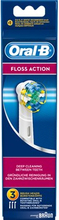 Oral-B Flossaction borsthuvud 3-pack