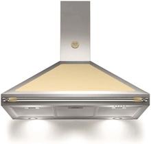 Bertazzoni Fläktkåpa K100HERCRA 100 cm, Heritage-serien, beige