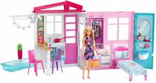 Barbie Dockhus med möbler FXG54