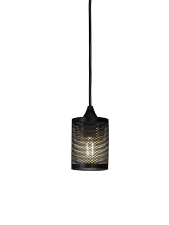 Pixla Svart Fönsterlampa