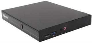 Giada i58B Barebone miniPC, Intel Core i5-5200U, HDMI, DP, svart