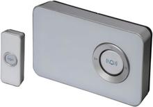 Trend Design trådlös dörrklocka, 100 meter - Vit