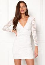 BUBBLEROOM Martha lace dress White XL