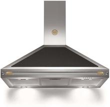 Bertazzoni Fläktkåpa K100HERNEA 100 cm, Heritage-serien, svart