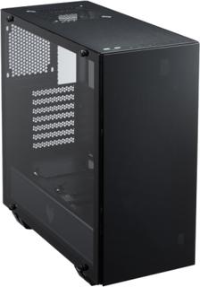FSP MidTower CMT510, 4xRGB fans, tempered glass, ATX, black
