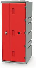 Kunststoff-Spind rot - Höhe: 910 mm