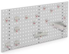 Lochplatten grau - 450 x 1000 mm