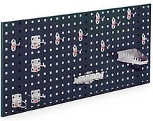 Lochplatten anthrazit - 450 x 1000 mm