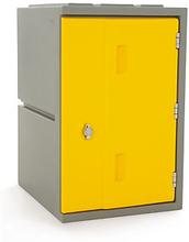 Kunststoff-Spind gelb - Höhe: 610 mm
