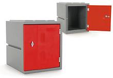 Kunststoff-Spind rot - Höhe: 460 mm