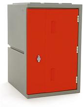 Kunststoff-Spind rot - Höhe: 610 mm