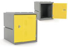 Kunststoff-Spind gelb - Höhe: 460 mm
