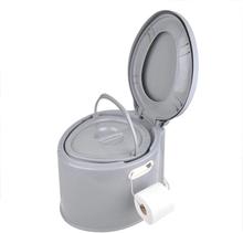 ProPlus Portabel toalett 7L grå