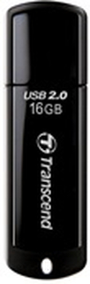 Transcend JetFlash 350 - USB flashdrive - 16 GB
