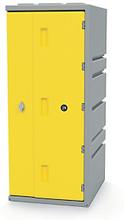 Kunststoff-Spind gelb - Höhe: 910 mm