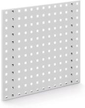 Lochplatten grau - 450 x 500 mm