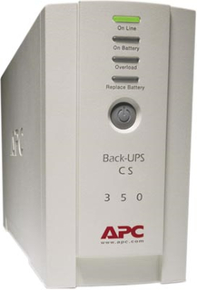 APC Back-UPS CS 350, 350 VA 120W 4 uttag tele_USB