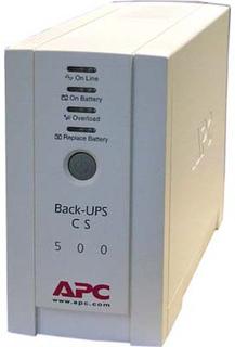 APC Back-UPS CS 500, 500 VA 300W 4 uttag tele_USB