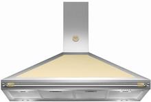 Bertazzoni Fläktkåpa K120HERCRA 120 cm, Heritage-serien, beige