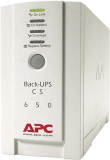 APC Back-UPS CS 650, 650VA 400W, 4 uttag, USB-port