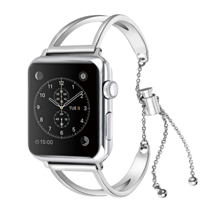 Apple Watch Series 1 / 2 / 3 stainless steel watch strap replacement - Silver