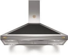 Bertazzoni Fläktkåpa K120HERNEA 120 cm, Heritage-serien, svart