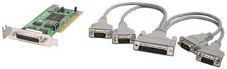 VSCOM lågprofil PCI I_O-kort, 4xDB9ha serieportar, PnP