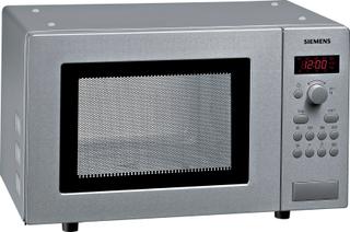Siemens iQ100 Frittstående mikrobølgeovn stål, HF15M541